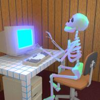 skeletonComputer